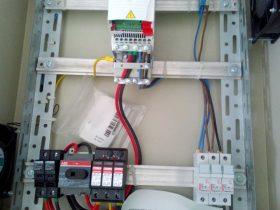Installation photovoltaïque POMPAGE d'une puissance 4.Kwc route SKIRA SFAX TUNISIE Societe SOLIDER 2