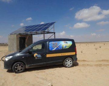 nstallation photovoltaïque POMPAGE d'une puissance 4.Kwc route SKIRA SFAX TUNISIE Societe SOLIDER