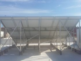 Installation-photovoltaïque-raccordée-au-réseau-d'une-puissance-12 Kwc-SALTNIA KM4-SFAX-TUNISIE-Societe-SOLIDER-1
