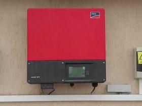 Installation photovoltaïque raccordée au réseau d'une puissance 2.75Kwc MANZEL CHAKER SFAX TUNISIE Societe SOLIDER 1