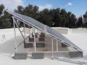 Installation photovoltaïque raccordée au réseau d'une puissance 2.75Kwc MANZEL CHAKER SFAX TUNISIE Societe SOLIDER