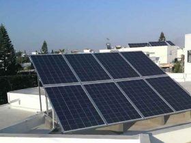 Installation photovoltaïque raccordée au réseau d'une puissance 2Kwc Gremda SFAX TUNISIE Societe SOLIDER 2