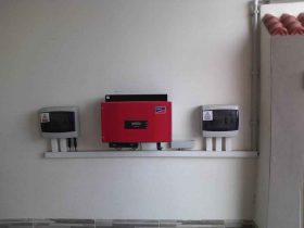 Installation photovoltaïque raccordée au réseau d'une puissance 2Kwc Gremda SFAX TUNISIE Societe SOLIDER