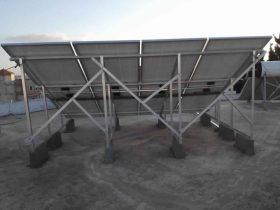 Installation photovoltaïque raccordée au réseau d'une puissance 2Kwc SIDI MANSOUR SOLIDER SFAX TUNISIE