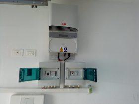 Installation photovoltaïque raccordée au réseau d'une puissance 4.08Kwc route GABES KM 8 SFAX TUNISIE Societe SOLIDER1