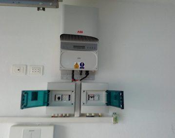 Installation photovoltaïque raccordée au réseau d'une puissance 4.08Kwc route GABES KM 8 SFAX TUNISIE Societe SOLIDER