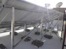 installation photovoltaique raccorsée au reseau 3 Kwc à ROUTE MATAR KM 1.5 sfax tunisie societe solider2