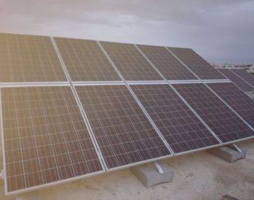installation photovoltaique raccorsée au reseau 3Kwc à taniour KM 8 sfax tunisie societe solider1