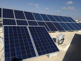 installation photovoltaique raccorsée au reseau 6Kwc à GREMDA KM 8 sfax tunisie societe solider