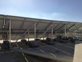 installation photovoltaique raccorsée au reseau 6Kwc à GREMDA KM 8 sfax tunisie societe solider4