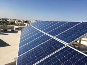 installation photovoltaique raccorsée au reseau 6Kwc à GREMDA KM 8 sfax tunisie societe solider6