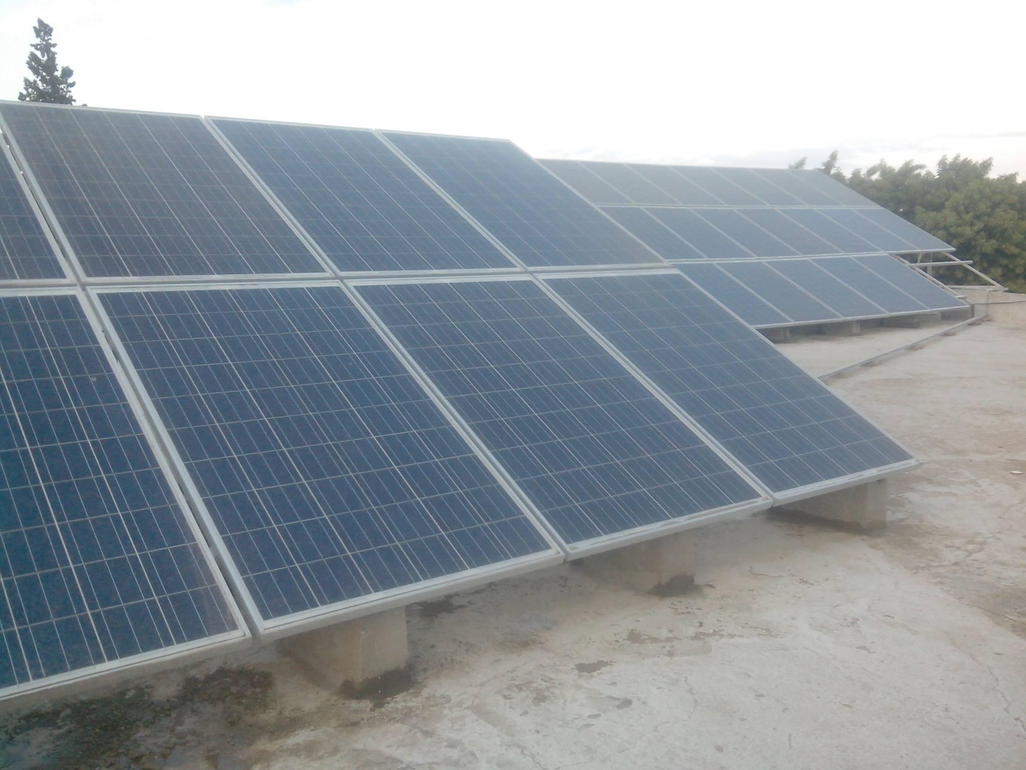 nstallation-photovoltaïque-Raccordee reseau d'une-puissance-12.Kwc-SAGAZ-POUDRIERE-SFAX-TUNISIE-Societe-SOLIDER 1