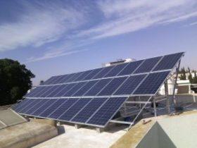 nstallation photovoltaïque d'une puissance 8.5.Kwc SOKRA SFAX TUNISIE Societe SOLIDER 2
